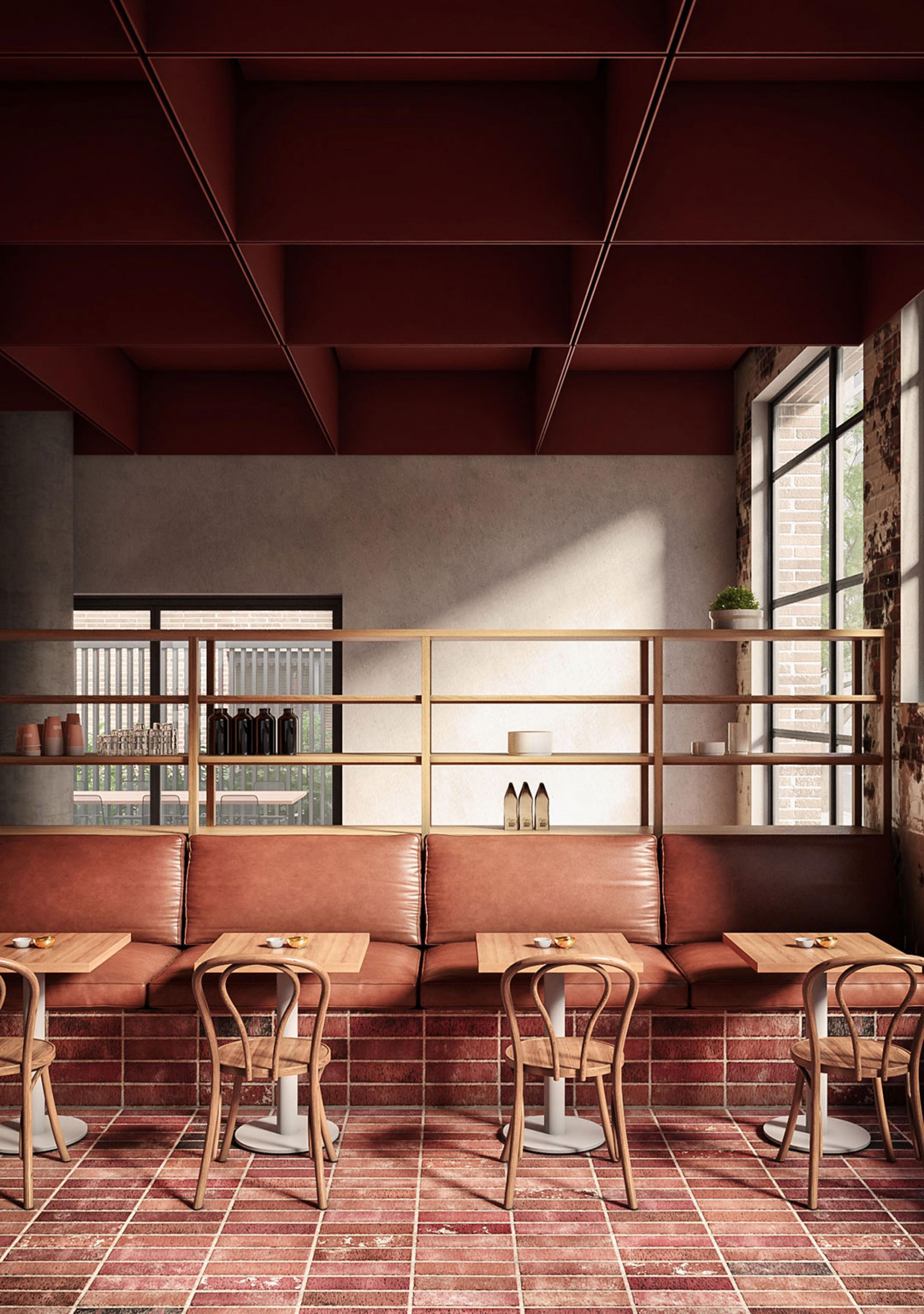 Bentwood café