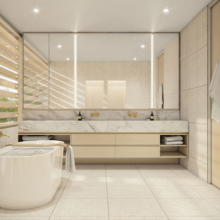 Castlecrag Master Ensuite Bathroom