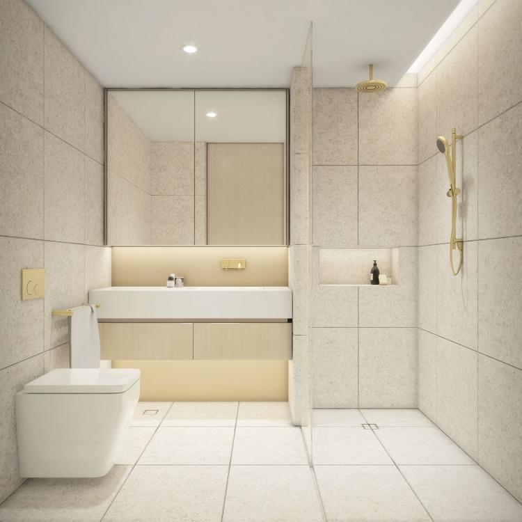 Castlecrag Typical Ensuite Bathroom