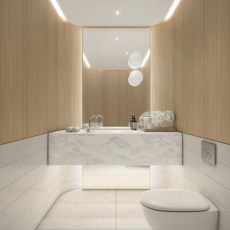 Balmoral PowderRoom Wood option