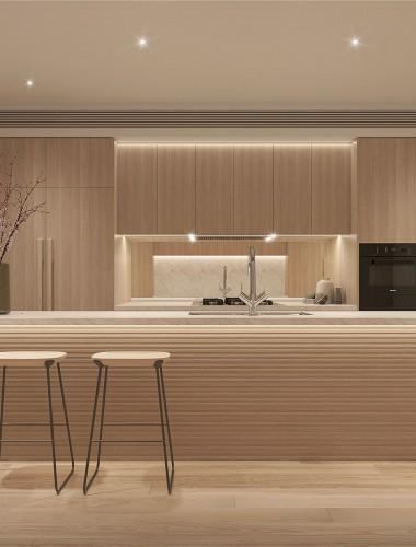 Shinagawa Penthouse interiors