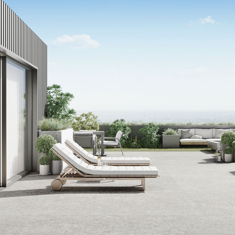 The Rooftop Residence - Terrace Exterior