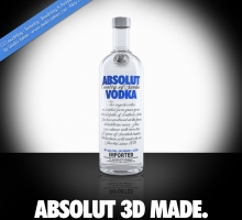 Absolut 3d made
